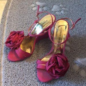 Audrey Brooke summer dressy sandals - size 6